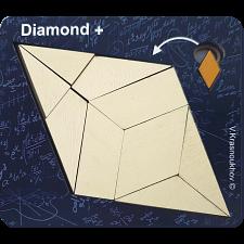 Diamond + - Krasnoukhov's Amazing Packing Problems -