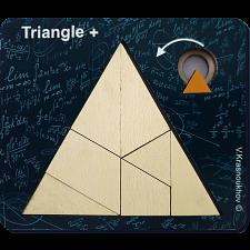 Triangle + - Krasnoukhov's Amazing Packing Problems -