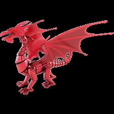 Metal Earth: Iconx 3D Metal Model Kit - Red Dragon -