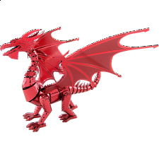 Metal Earth: Iconx 3D Metal Model Kit - Red Dragon - Models and Kits