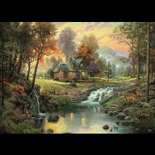 Thomas Kinkade - Mountain Retreat - Thomas Kinkade