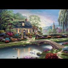 Thomas Kinkade - Stoney Creek Cottage - Thomas Kinkade
