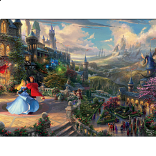 Thomas Kinkade: Disney - Sleeping Beauty Enchanting -