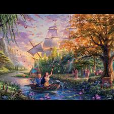 Thomas Kinkade: Disney - Pocahontas - Thomas Kinkade