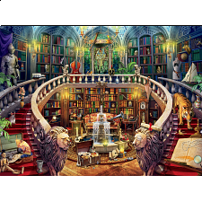 Seek and Find: Library -