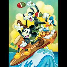 Disney Fine Art: Surf Trio -