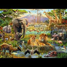 Animals of the Savanna -