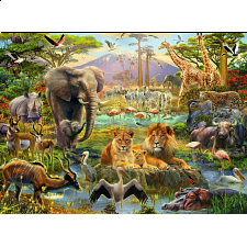 Animals of the Savanna - 101-499 Pieces