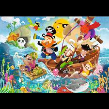 Land Ahoy! - Super Sized Floor Puzzle -
