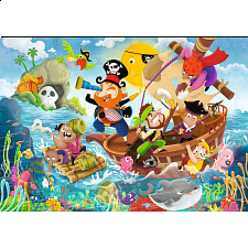 Land Ahoy! - Super Sized Floor Puzzle - 1-100 Pieces