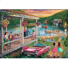 Summer At The Lake - Large Piece Format - 101-499 Pieces