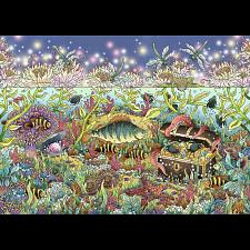 Underwater Kingdom at Dusk -