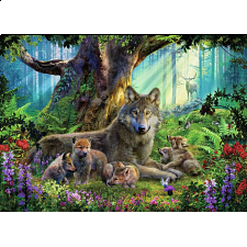 Wolves in the Forest -
