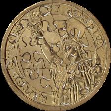 17 Piece Small Dollar - Coin Jigsaw Puzzle -