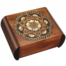 Chakra Flower - Secret Box - Wooden Puzzle Boxes