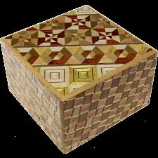 Square 12 Step Koyosegi / Kuzushi - Other Japanese Puzzle Boxes