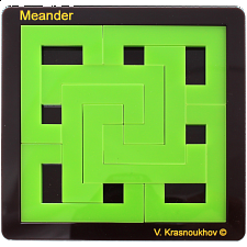 Meander - Packing Puzzles