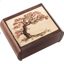 Tree Puzzle Box - Wood Puzzles
