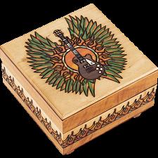 Guitar Puzzle Box - Wood Puzzles