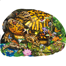 Tortoise Crossing - Shaped Jigsaw Puzzle - New Items