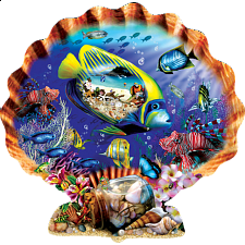 Souvenirs of the Sea - Shaped Jigsaw Puzzle - New Items