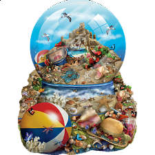 Sand Castle - Shaped Jigsaw Puzzle - New Items