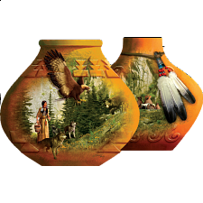 Indian Pots - Shaped Jigsaw Puzzle - New Items