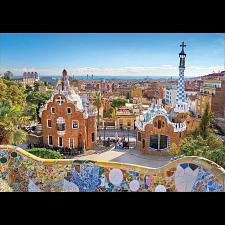 Barcelona View from Park Güell -