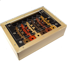 6 Key Box - European Wood Puzzles