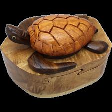 Turtle - 3D Puzzle Box - Wood Puzzles