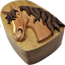 Horse Head - 3D Puzzle Box -