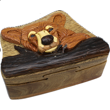 Bear Head - 3D Puzzle Box -