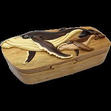 Humpback Whales - 3D Puzzle Box -