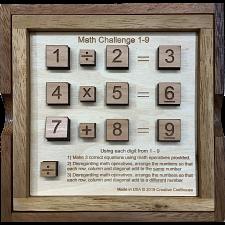Math Challenge 1-9 -
