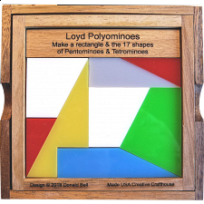 Loyd Polyominoes - More Puzzles