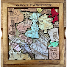 Gardeners Challenge Puzzle - Packing Puzzles