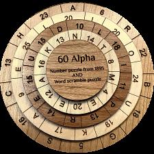 60 Alpha Puzzle -