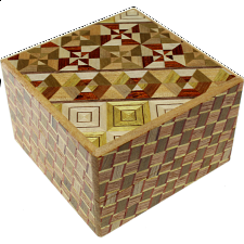 Square 14 Step Koyosegi / Kuzushi - Other Japanese Puzzle Boxes