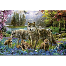 Wolf Lake Fantasy - Large Piece Jigsaws
