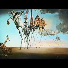 Salvador Dali: The Temptation of St. Anthony -