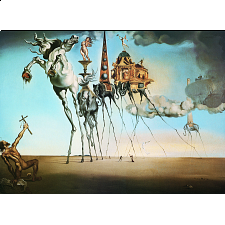Salvador Dali: The Temptation of St. Anthony -