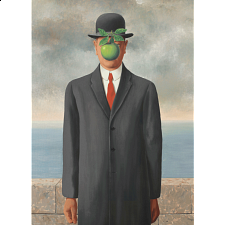 Rene Magritte - The Son of Man -