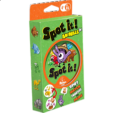 Spot It! Animals Jr. - Family Games