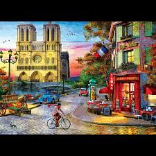 Notre Dame Sunset - Dominic Davison -