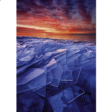Power of Nature: Ice Layers -