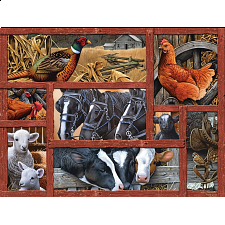 Farmyard Friends - Large Piece - 101-499 Pieces