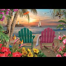 Island Paradise - Large Piece -