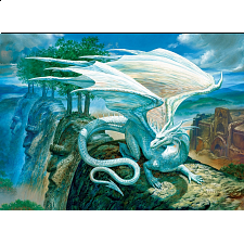 White Dragon - Large Piece -