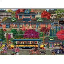 Trolley Station - Large Piece -