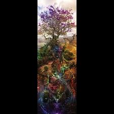 Enigma Trees: Magnesium Tree - Vertical Panorama -